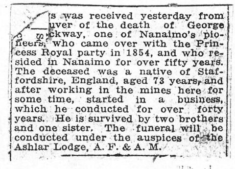 Bevilockway Obituary