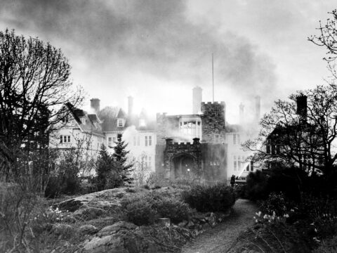 Government House Fire