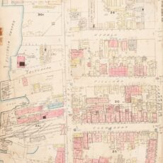 This is an image of 1891 fire insurance map of Victoria's Chinatown
