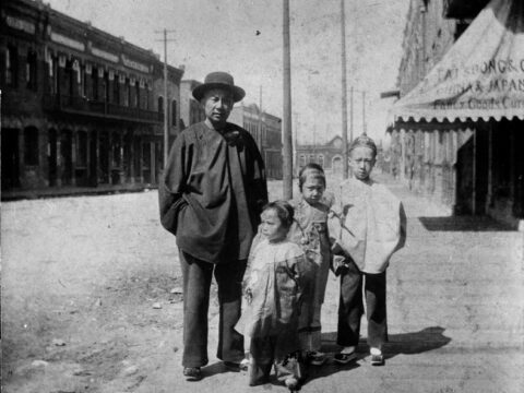 Family on Comorant Street