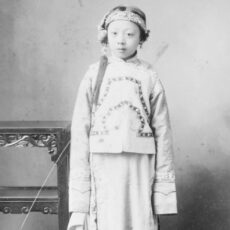 This is a black and white photograph of a girl named Lee Yut Wah Ida taken in the 1900s.