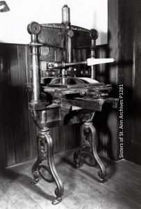 Read about BC's first printing press, which printed the prospectus announcing the opening of St. Ann's Schoolhouse. Explore other digital resources about one of the oldest buildings in western Canada.