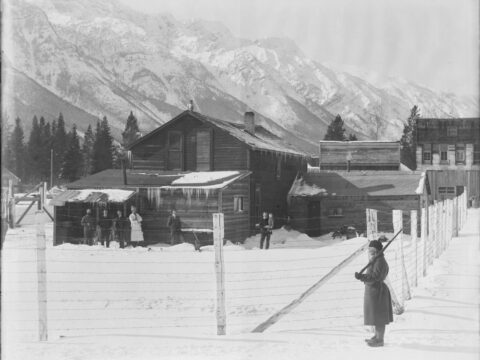 Internment camp at Morrissey, B.C.