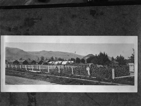 Internment camp, Vernon, B.C.