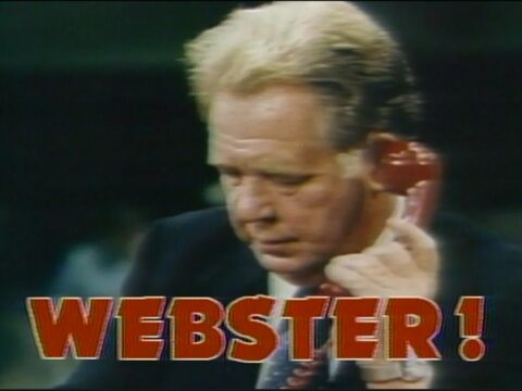 Webster on Phone