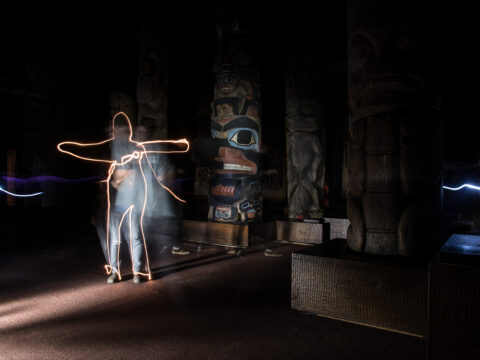 Totem Light Paintings