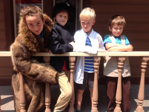 Re-enacting Gold Rush Photography – Seb, Nils, Rowen, Jared
