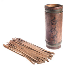 This is an image of a Chinese Taoist fortune telling device.