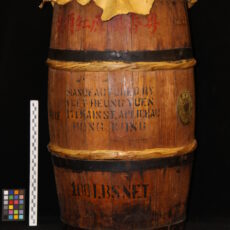 Barrel drum.