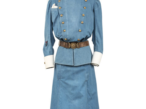 Nursing Sister's Uniform worn by Murney Pugh during World War I