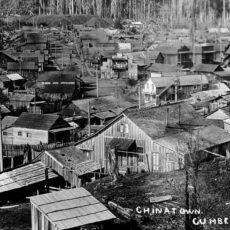 Chinatown – Cumberland, 1910.