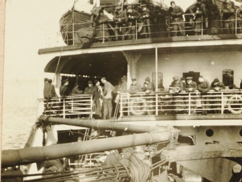 Onboard the <i>Missanabie</i>