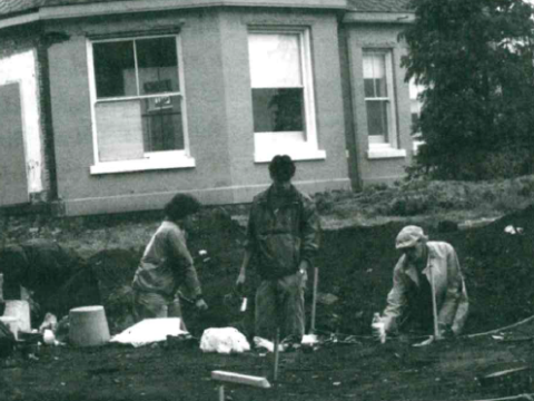 Excavating Royal Jubilee Hospital