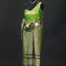 Traditional Cambodian costume.
