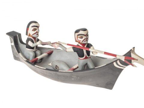 Model Sealing Canoe