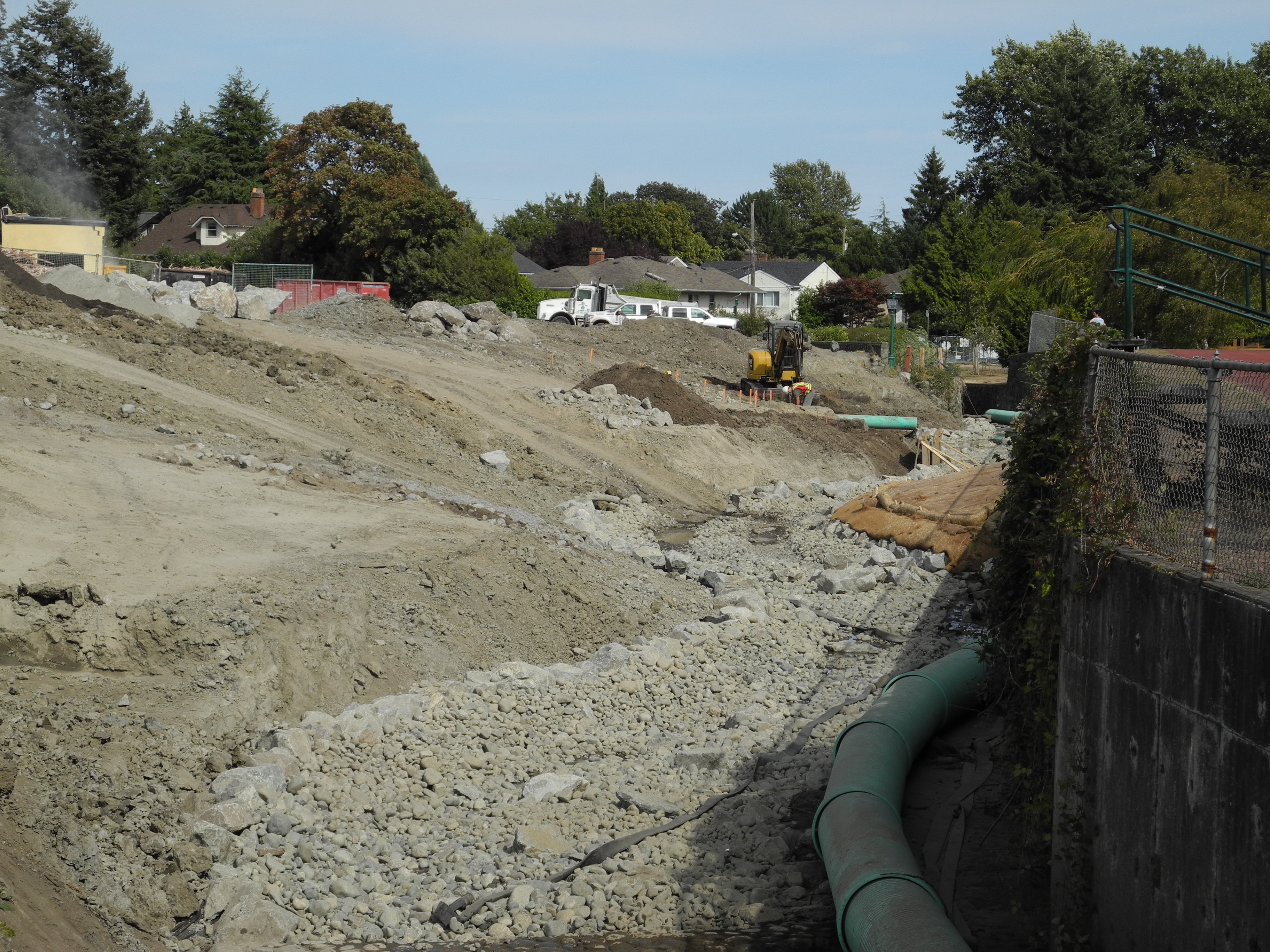 Bowker Creek Channel Construction - Learning Portal