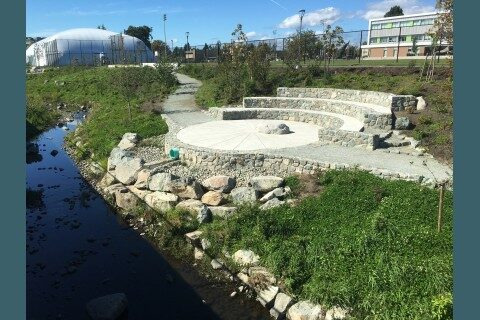 Oak Bay High's contribution and the Outdoor Classroom
