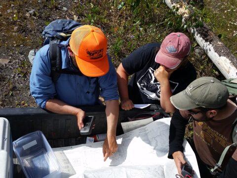Examining maps