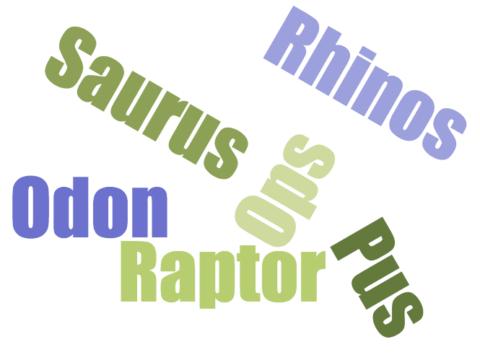 Dino Dice – Suffix