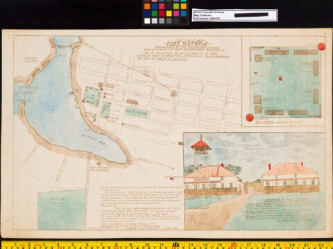 Fort Victoria Sketch