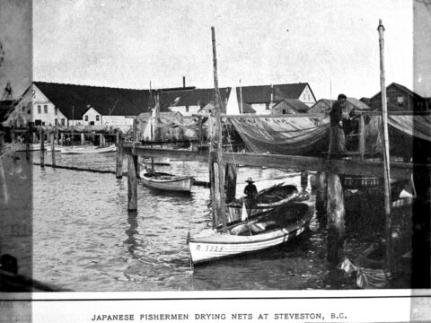 Fishermen at Steveston