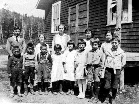Ucluelet East School Students